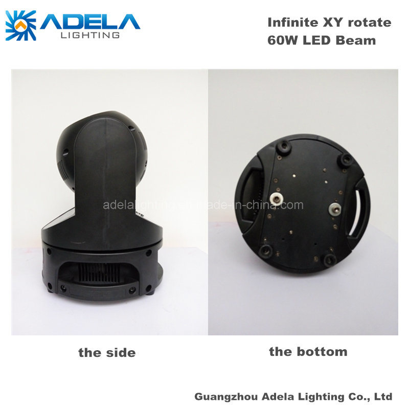 60W LED Infinite Moving Head Beam Light