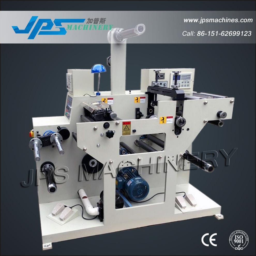 Jps-320c-Tr Automatic Paper Label Rewinding Slitting& Rotary Die Cutting Machine