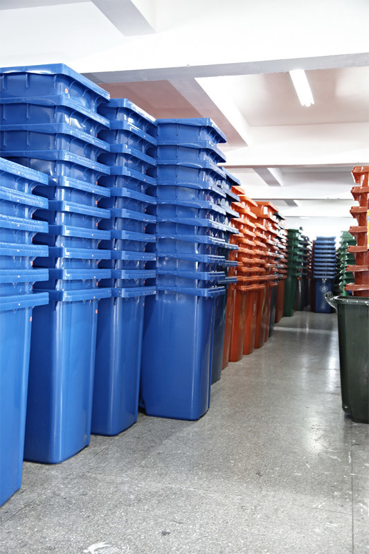 Plastic Trash Can 20L to 1100L