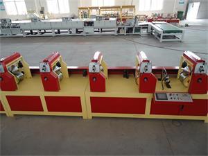 L Shaped Paper Edge Protector Machine Flat Cardboard Corners Machine