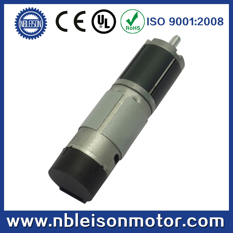28mm 24V Brushed DC Planetary Gear Motor with Encoder