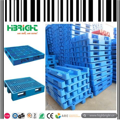 Double Deck Plastic Pallet for Warehouse