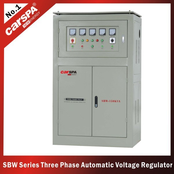 China Three Phase Automatic Ac Voltage Stabilizer Sbw