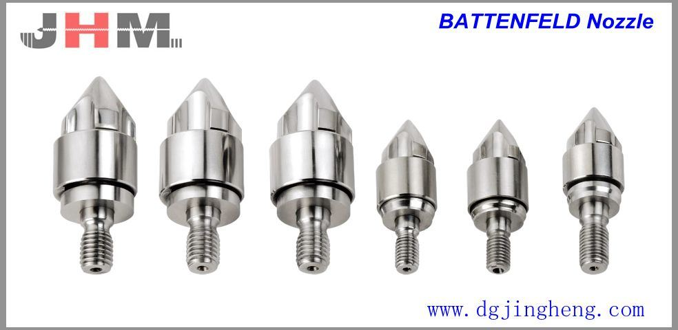 Battenfeld Injection Screw Torpedo Head
