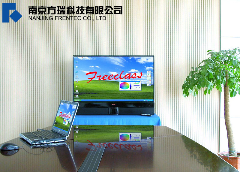 Rear Projection Interactive Whiteboard