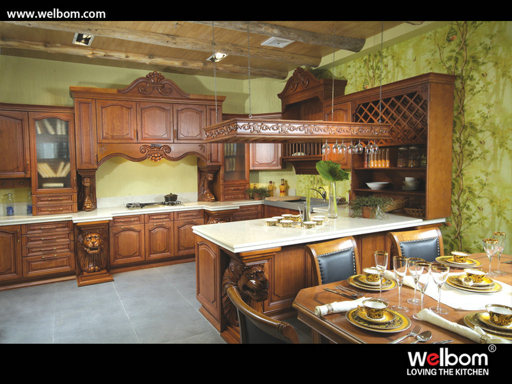 china iso welbom american style classical solid wood kitchen iso welbom american style classical solid wood kitchen furniture