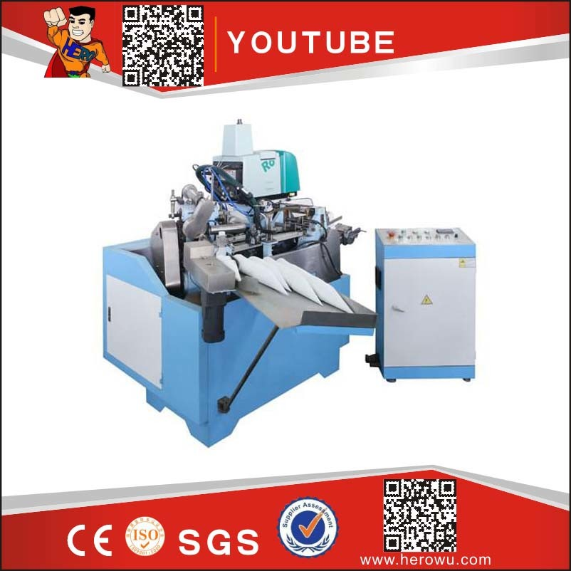 CPC-220 Ice Cream Paper Cone Sleeve Making and Forming Machine