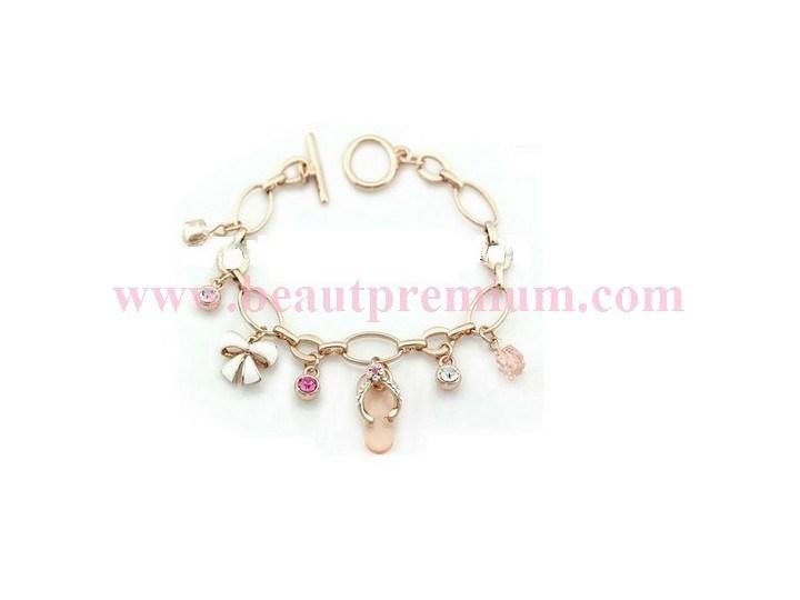 Shoes Pendant Zinc Alloy Bracelet From Social Audit Factory Bp021