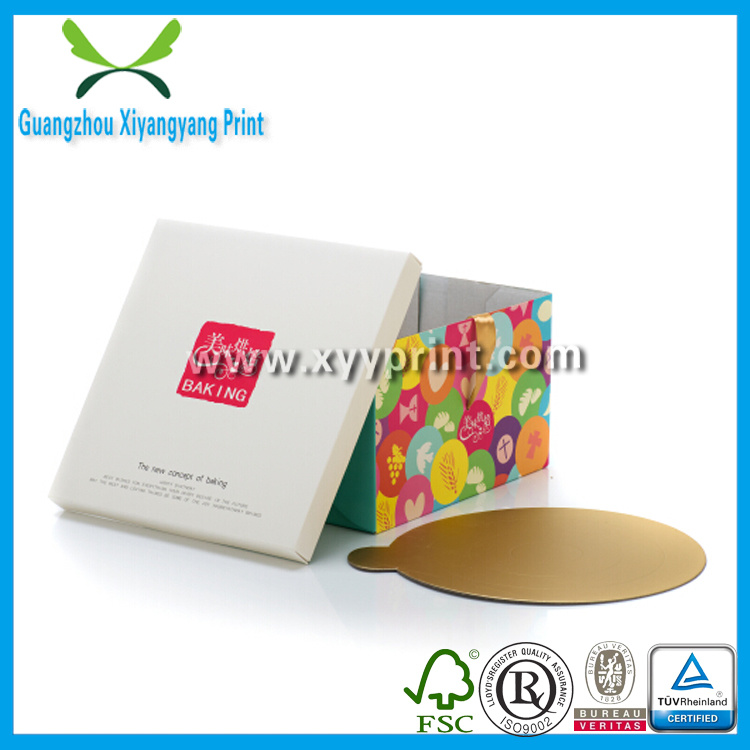 Custom Paper Fast Food Packaging Box for Pizza Cake Candy Chocolate Box