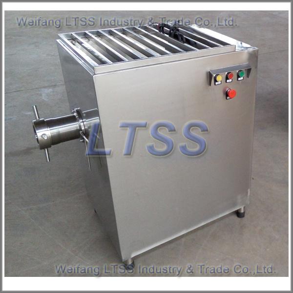 Big Capacity Frozen Meat Mincer / Meat Grinder Machine