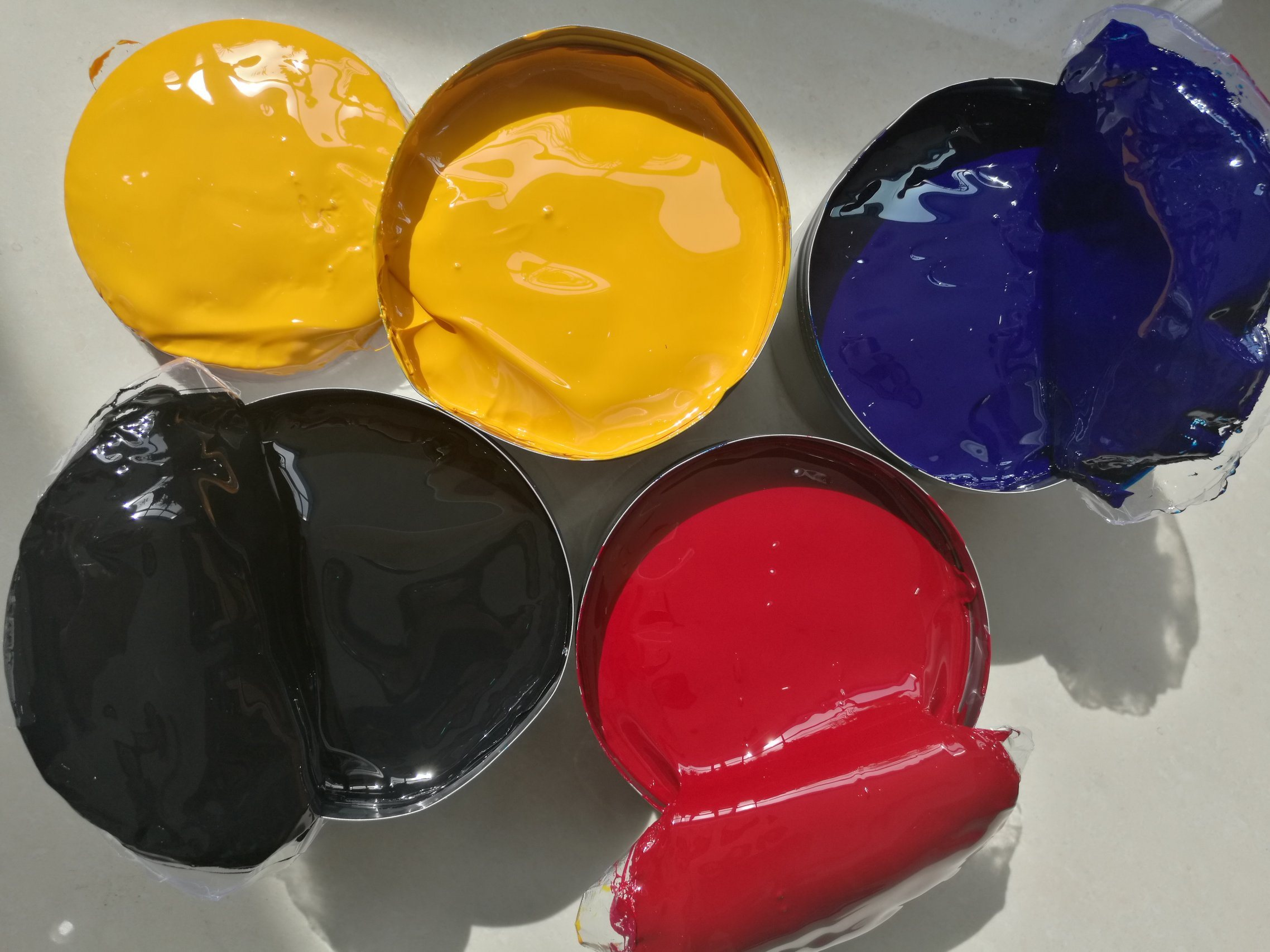 Stable Quality Glossy Ink Sheet Fed Offset Printing Ink