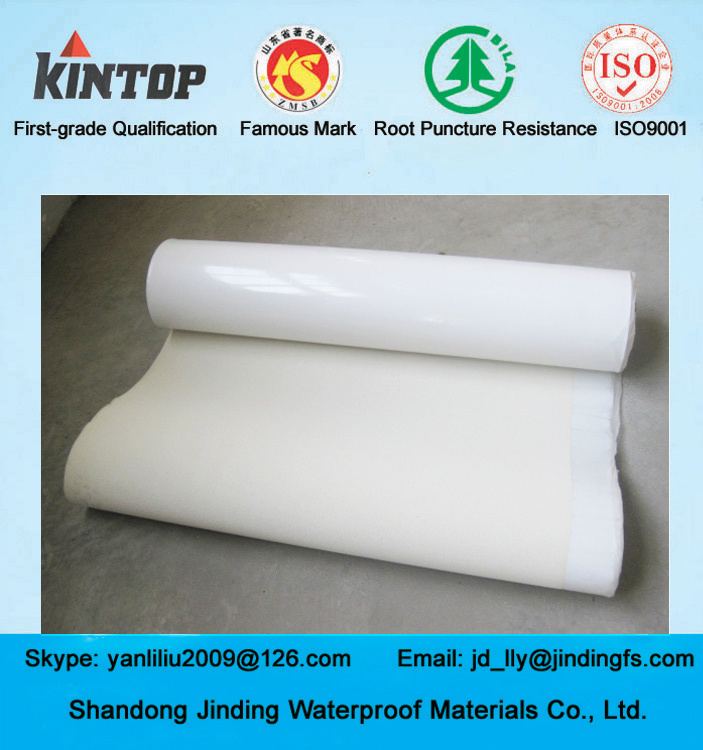 China HDPE Self Adhesive Waterproof Membrane in 1 2mm Thickness   China  Building Material  Waterproofing Membrane. China HDPE Self Adhesive Waterproof Membrane in 1 2mm Thickness