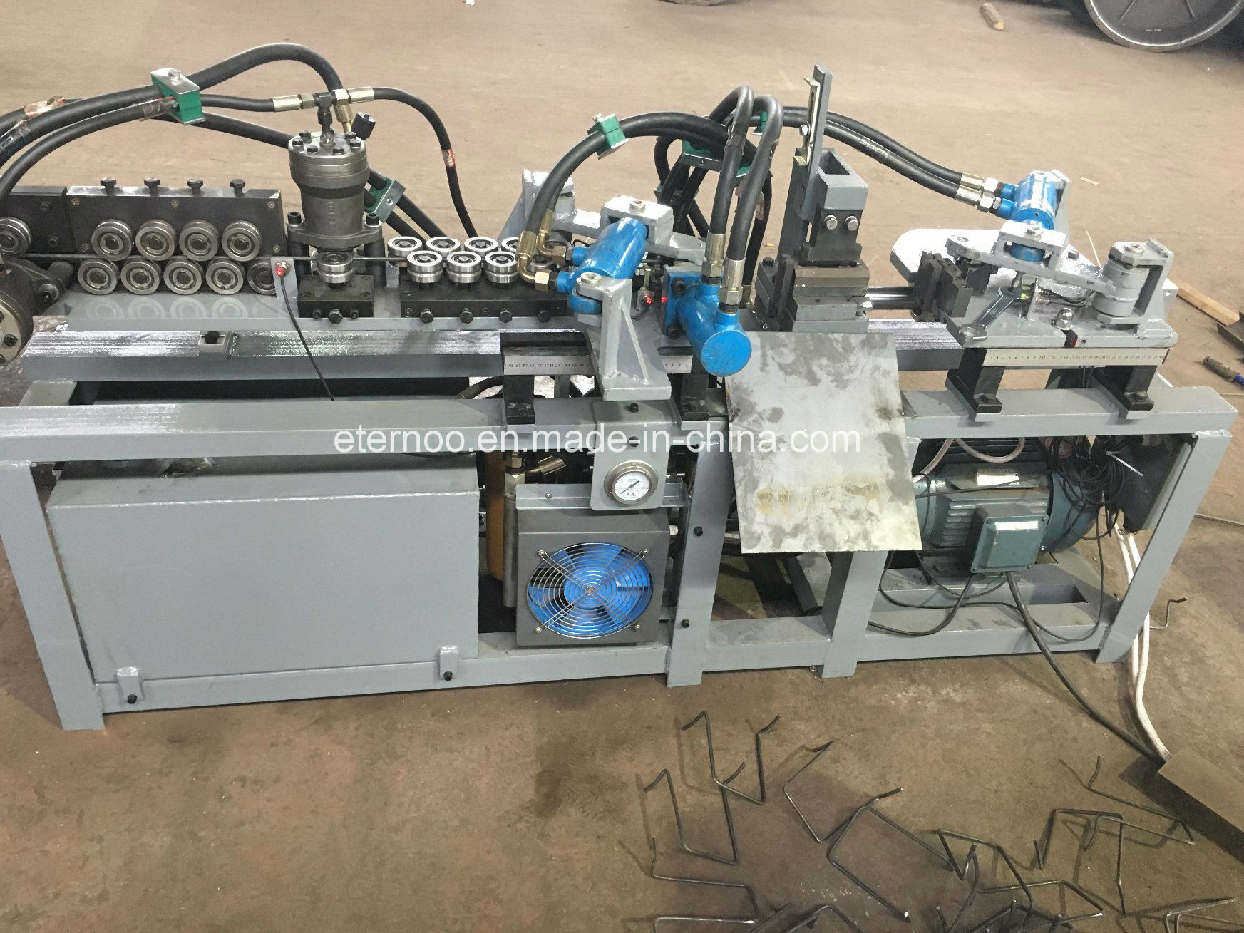 Auto Hydraulic Post Tension Bar Chair Machine