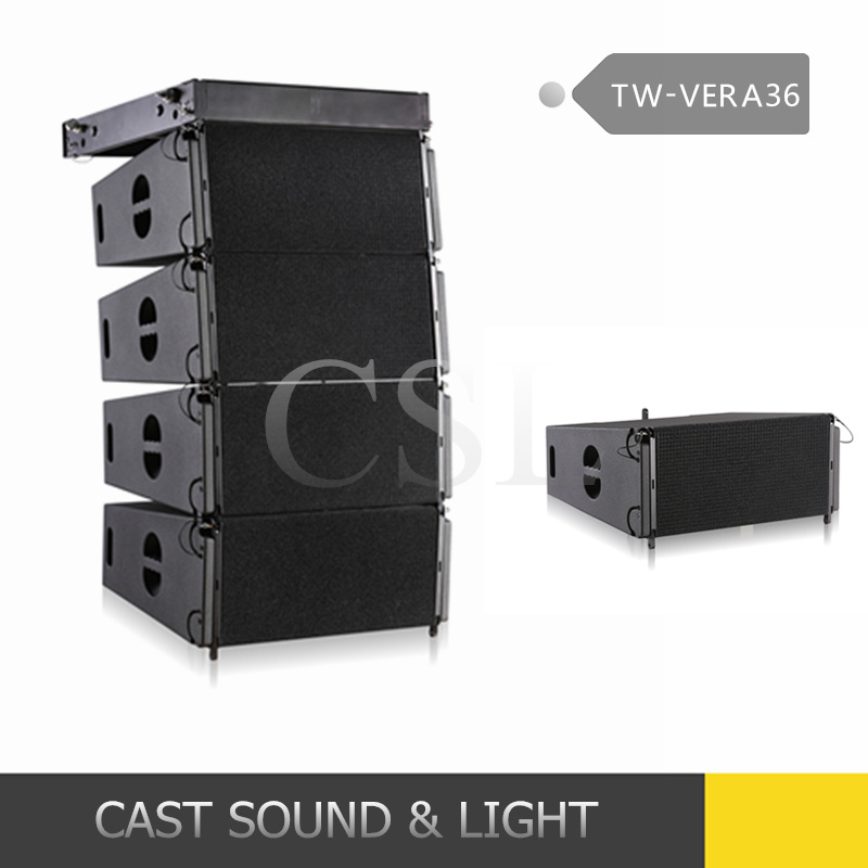 "New Tw Audio Vera36 Dual 10"" Line Array Speaker System"