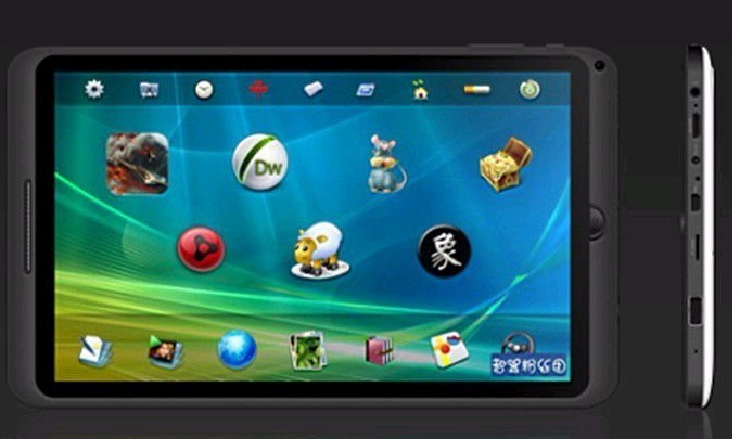 Touch Screen Android 4.0 Tablet PC 1.2GHz CPU 4GB Wi-Fi Camera HDMI