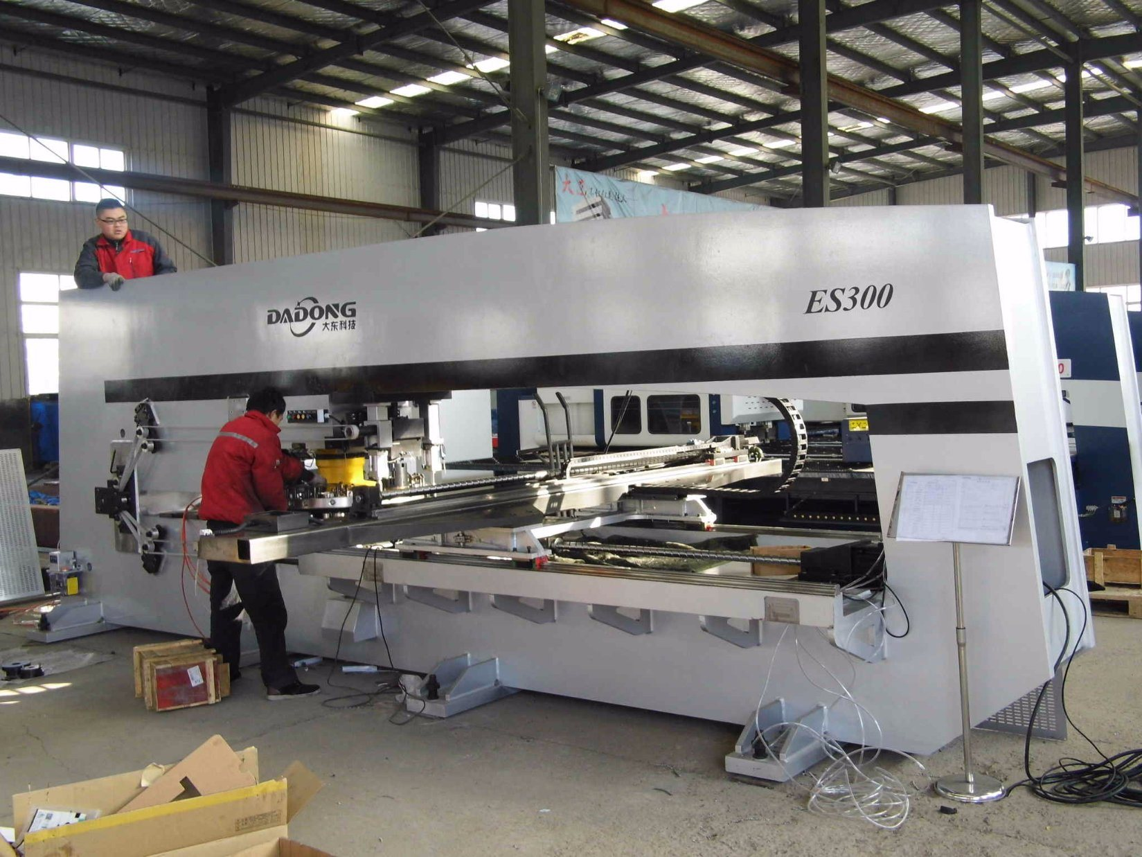 CNC Servo Turret Punching Machine /Profile Punching Machine