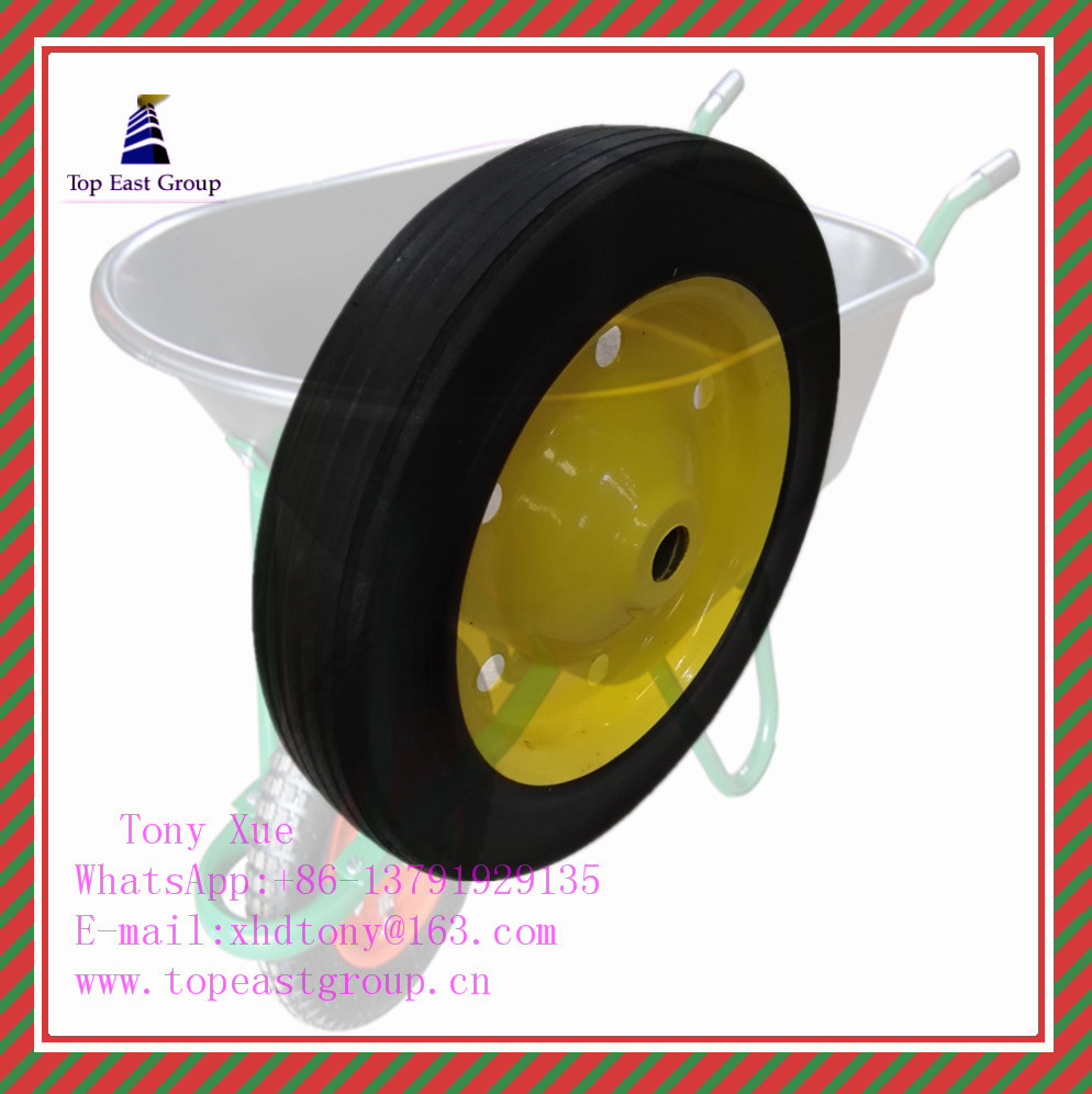 Super Quality Solid Rubber Wheel 300-4, 350-8, 400-8, 500-10