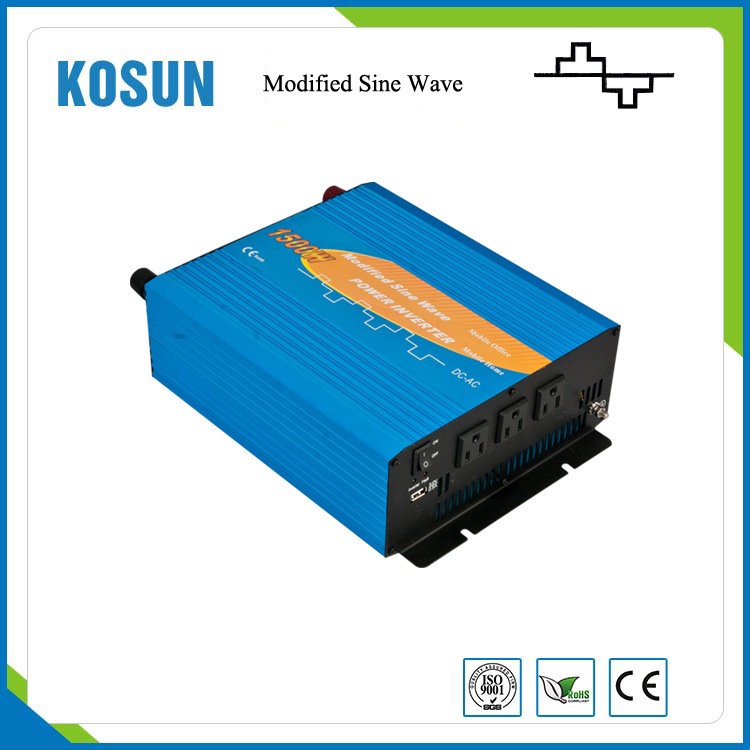 1500W Modified Sine Wave Car Power Inverter