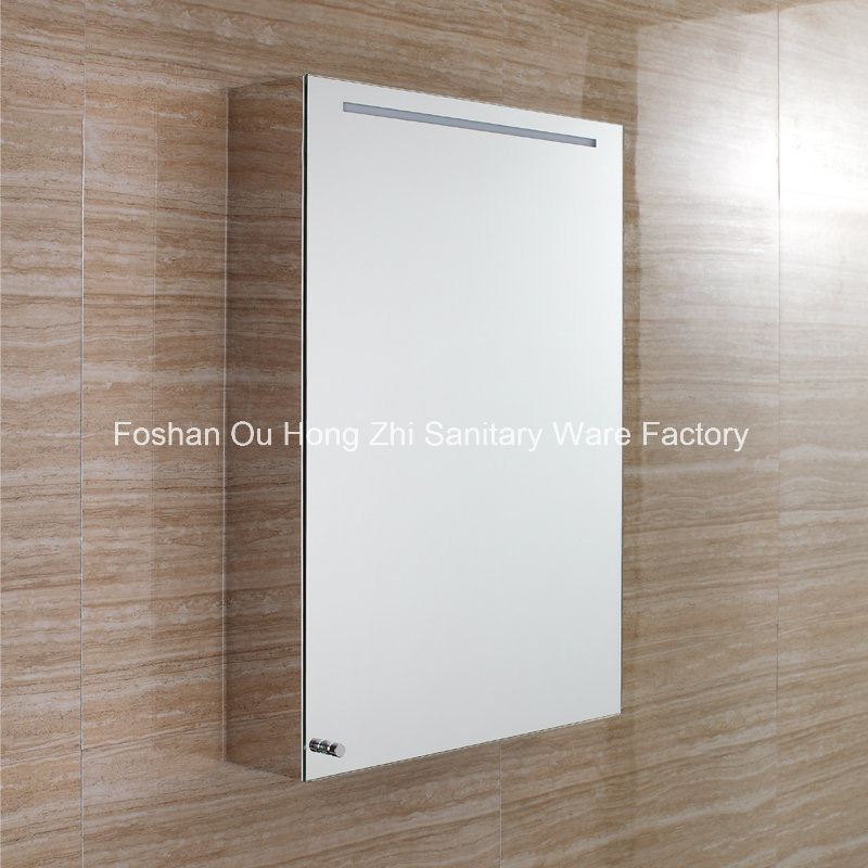 Bathroom Design Hotel LED Mirror Anti Fog Touch Screen Bathroom LED Cabinet