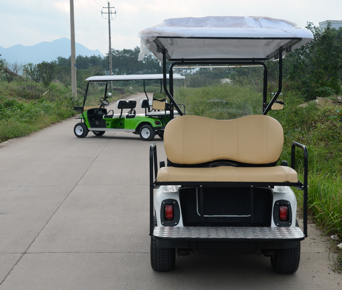 3000 W 2+2 Seats Classic Electric Golf Cart
