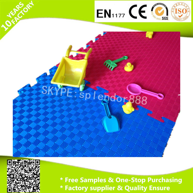 Cheap Washable Coloring Non-Toxic EVA Interlocking Foam Floor Mat