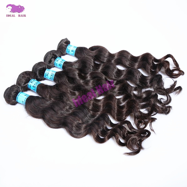 Nonprocessed Hair Thick Bottom Loose Wave Virgin Brazilian Hair (VB05001W)