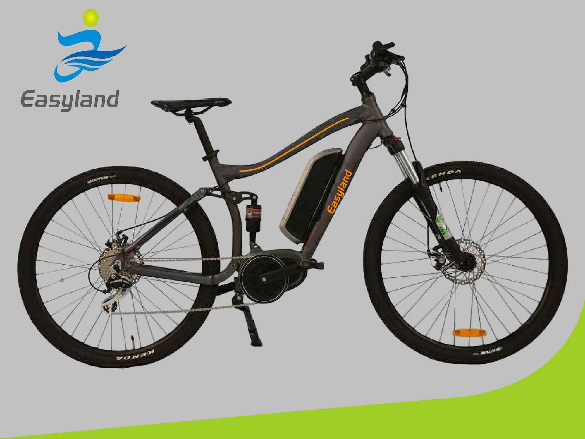 27.5 Inch Electric MID Motor Bike with Lithium Battery