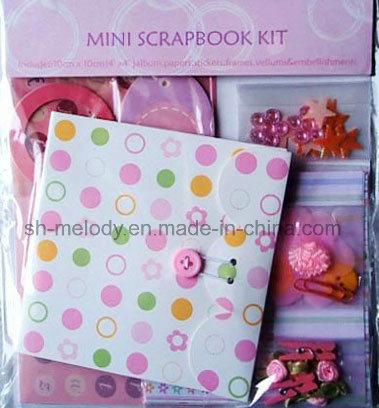"""4""""X4"""" Unique Mini Scrapbook Kit"""
