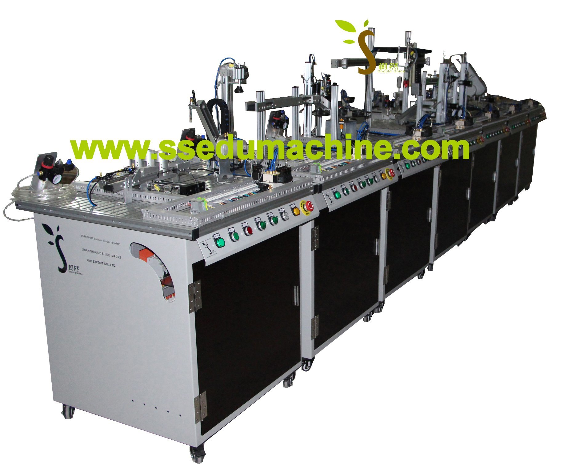 Flexible Manufacture System Mechatronics Training Equipment Mechatronics Trainer Mps