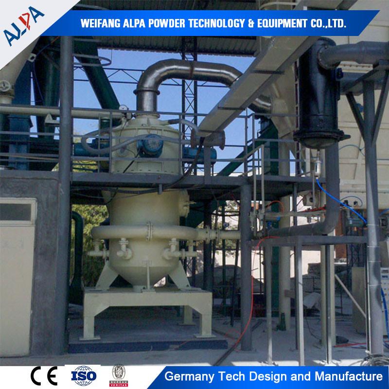 Ultrfine Barite Ground Machine Puverizer Jet Mill