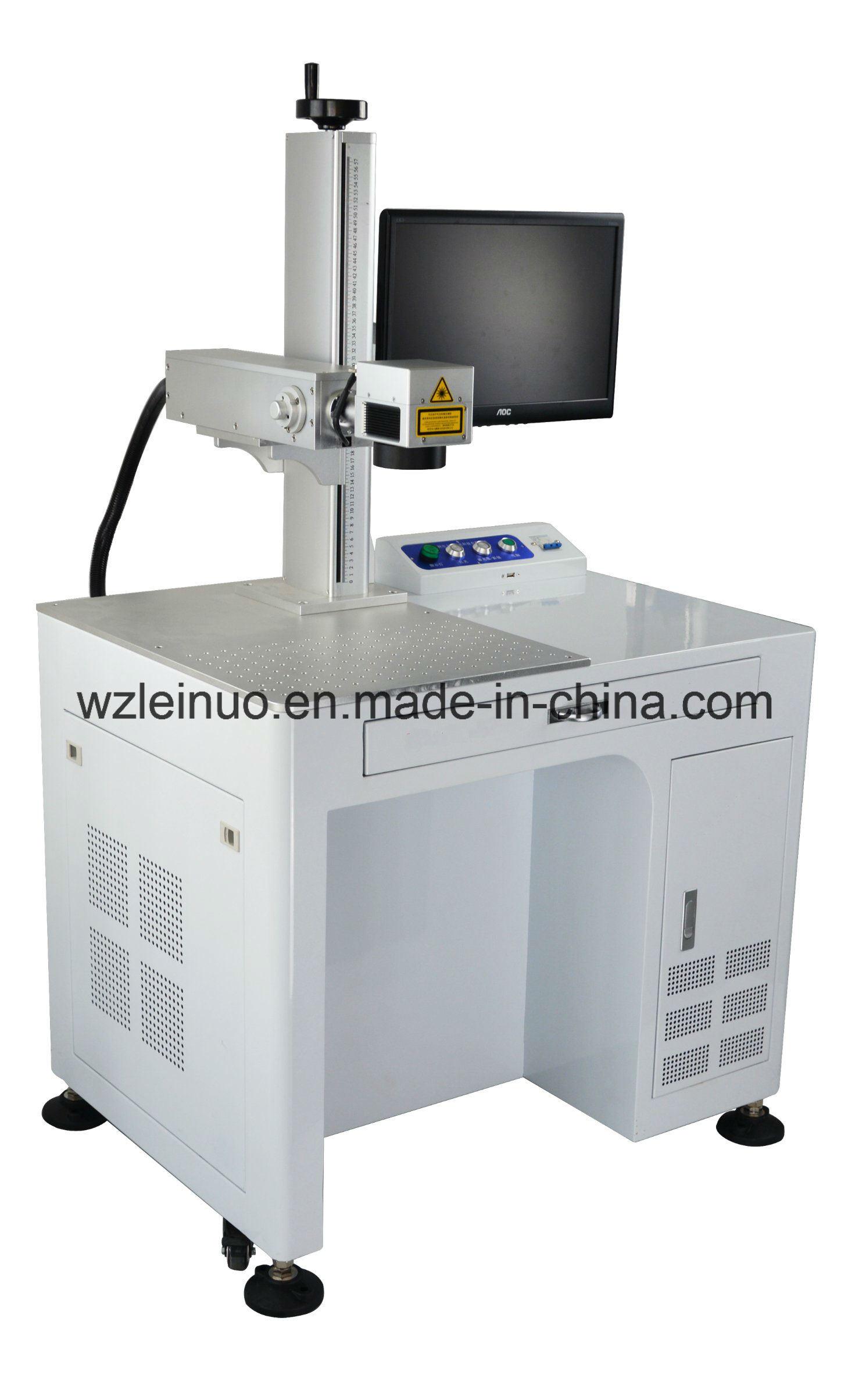 30W Optical Fiber Laser Marking Machine for Package