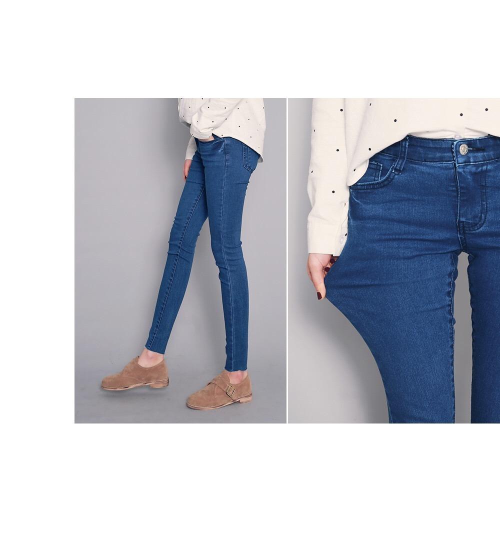 2017 Fashion Women′s Denim Stretch Cotton Jeans