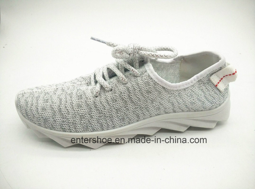 Injection Women Athletic Shoes with Lace up (ET-XK160215W)