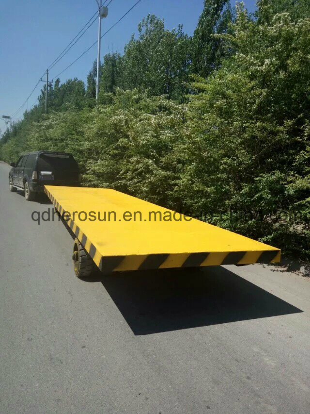 10 Tons Super Low Platform Trailers