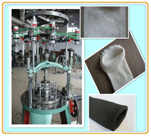 Mecmor Compact - circular knitting machine -santoni - YouTube