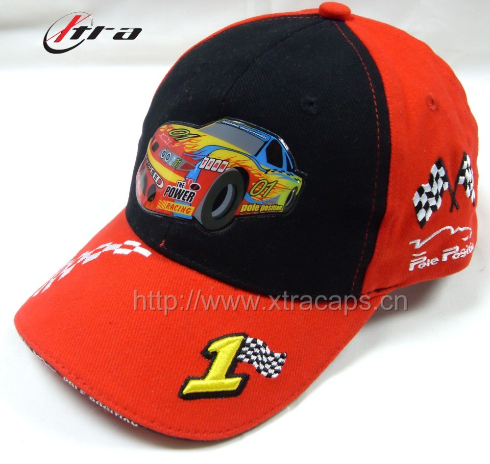 Kids Cap Cartoon Car Caps Children Hat (XT-0544)