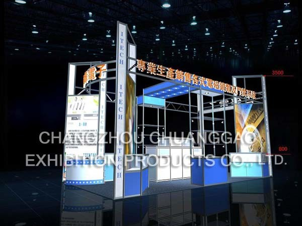 Special Size Customized Exhibition Stand Booth Display