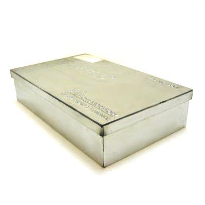 China Rectangular Tin Box Bo 82 China Tin Box Metal Box