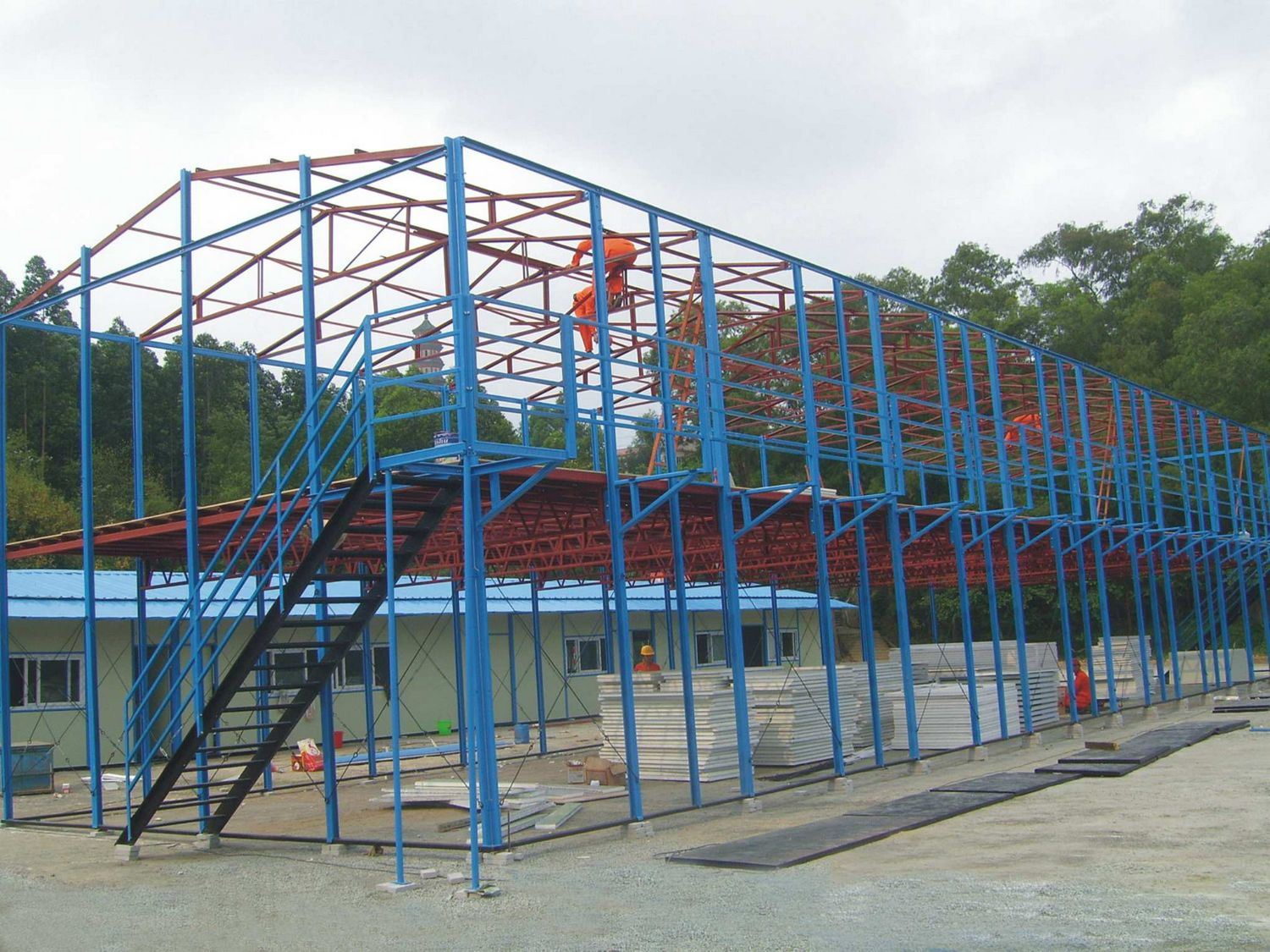 Prefab House Steel Structure Two Floors