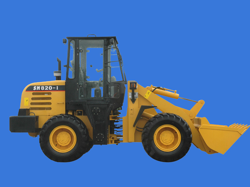 2 Ton /1.2m3/55kw Wheel Loader, Loaders (SINOHENG820-1)