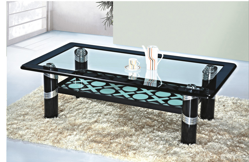 China Glass Furniture / Glass Tea Table (2274) - China ...