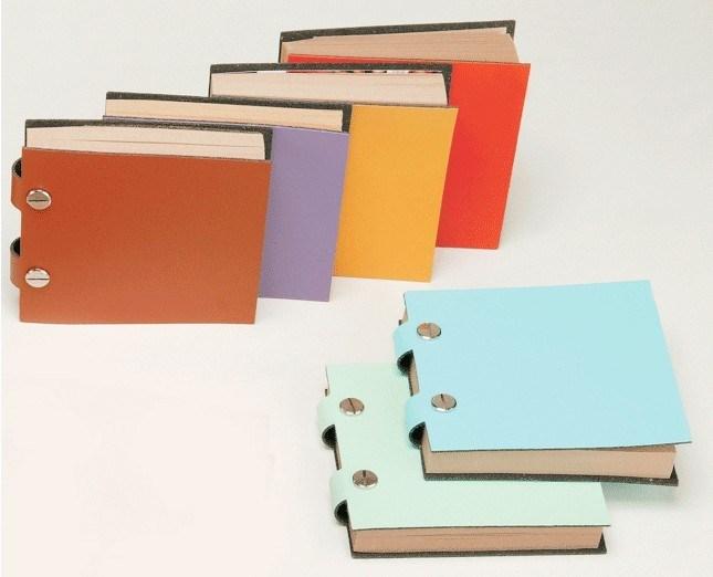 Memo Pad Colorful Paper Pad PU Cover