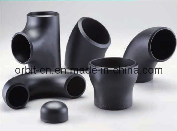 China carbon steel butt weld pipe fittings
