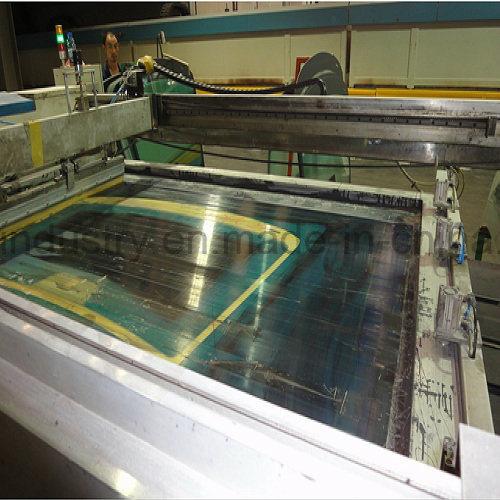 Bus Shelf Glass Making Machine/Printing and Drying Machine