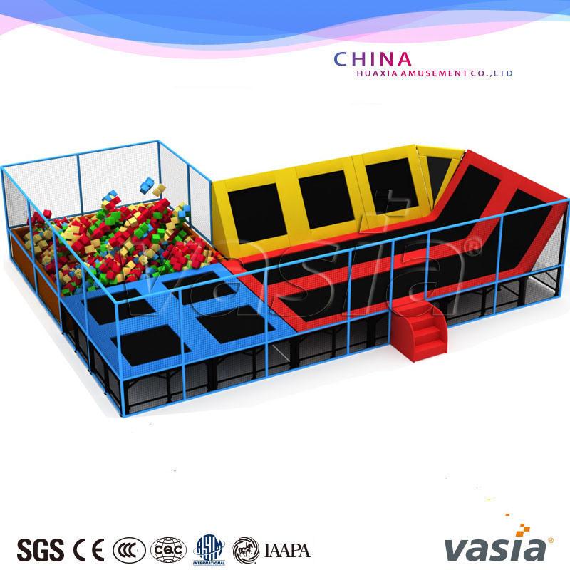 Children Indoor Trampoline Park with Ninja Warrior