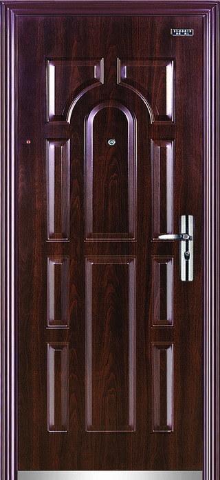 Security doors solid metal security doors for Metal security doors