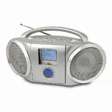 Docking Station with 3.5mm Aux Input Jack and AM/FM Analogue Tuning Radio for iPod