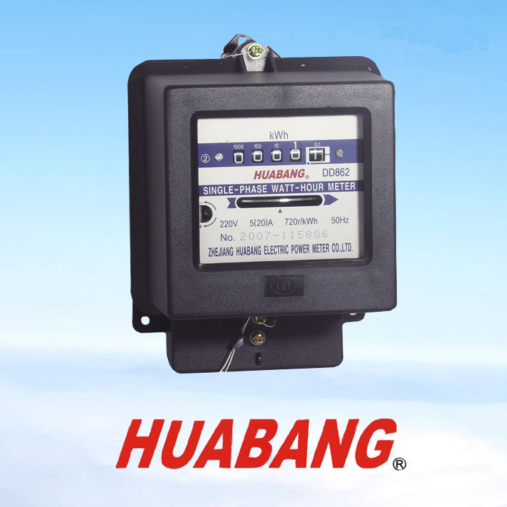 Single Phase Meter Mechanical : China sinle phase mechanical energy meter dmm