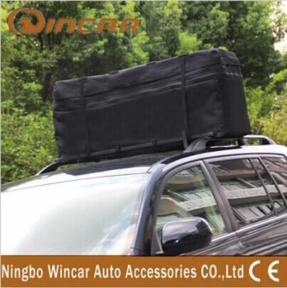 600D Oxford Polyester Auto Rear Luggage Bag Car Cargo Bag