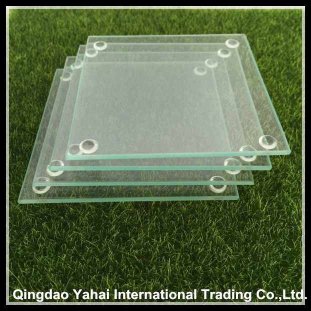 4mm Clear Tempered Galss Coaster